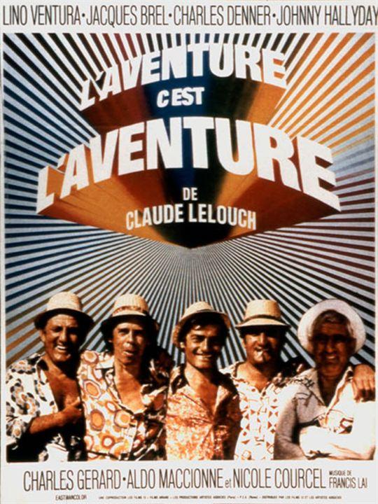 L'Aventure c'est l'aventure affiche