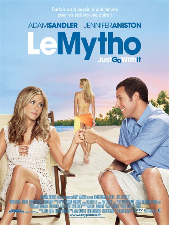 Le Mytho - Just Go With It : affiche