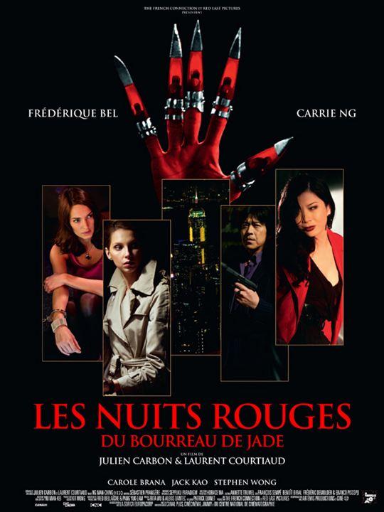 Les nuits rouges du bourreau de jade : Affiche