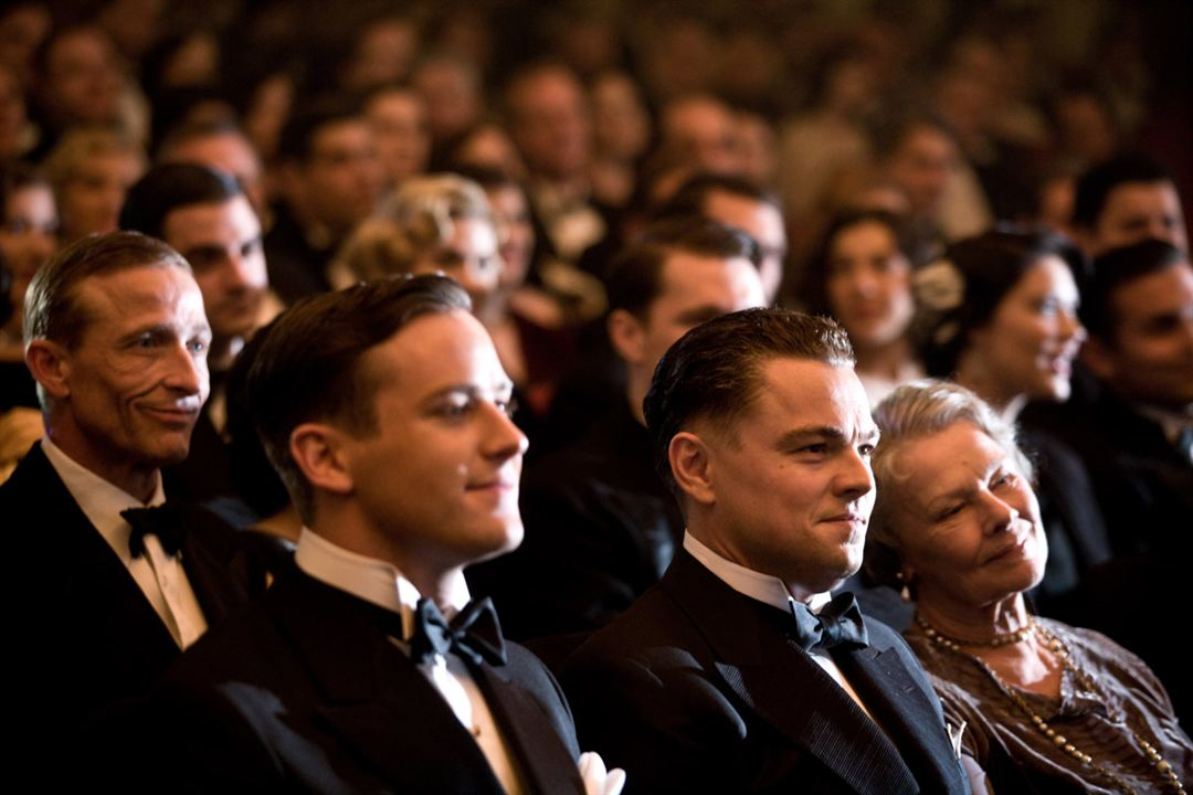 J. Edgar : Photo Armie Hammer, Judi Dench, Leonardo DiCaprio