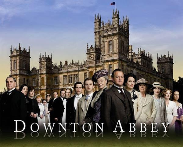 Downton Abbey : Photo Brendan Coyle, Dan Stevens, Elizabeth McGovern, Hugh Bonneville, Jessica Brown Findlay
