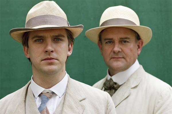 Downton Abbey : Photo Dan Stevens, Hugh Bonneville