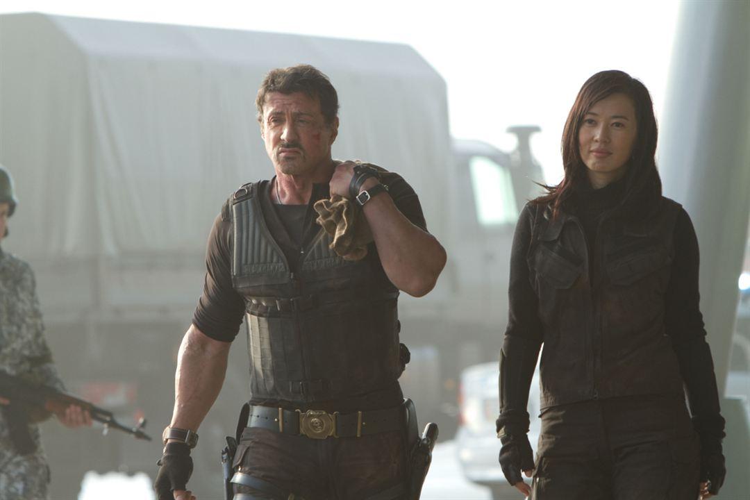 Expendables 2: unité spéciale : Photo Sylvester Stallone, Yu Nan