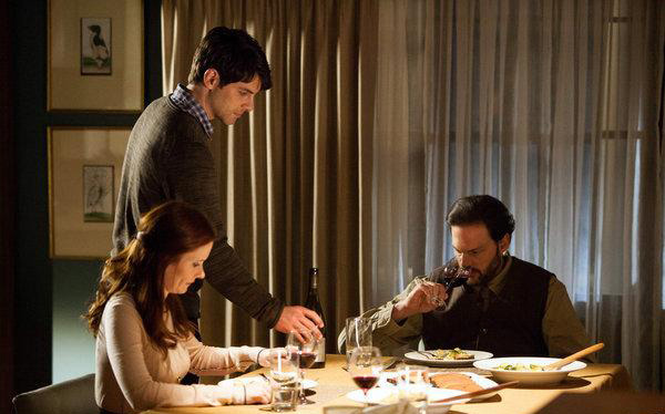 Photo Bitsie Tulloch, David Giuntoli, Silas Weir Mitchell