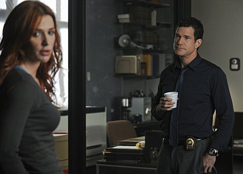 Photo Dylan Walsh, Poppy Montgomery