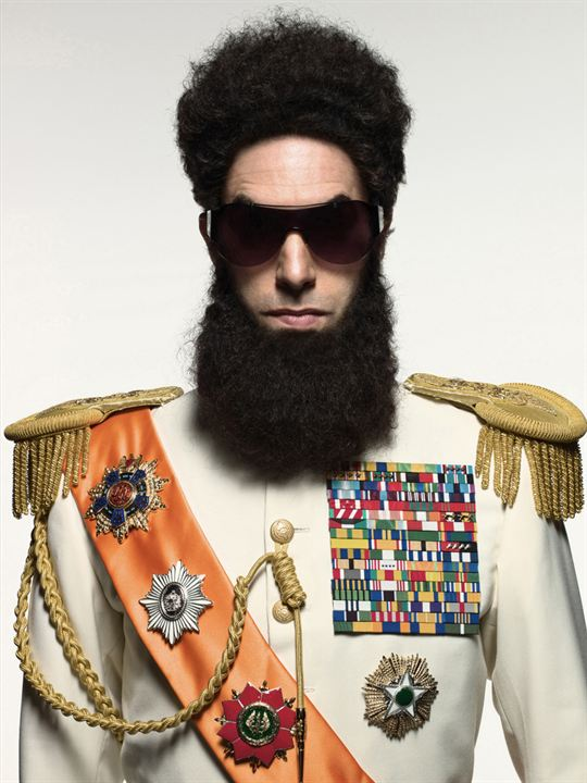 The Dictator : Photo Larry Charles, Sacha Baron Cohen
