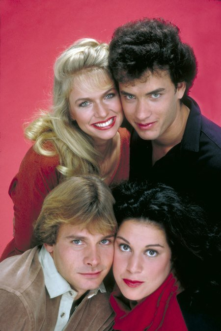 Bosom Buddies : Photo Donna Dixon, Peter Scolari, Tom Hanks, Wendie Jo Sperber