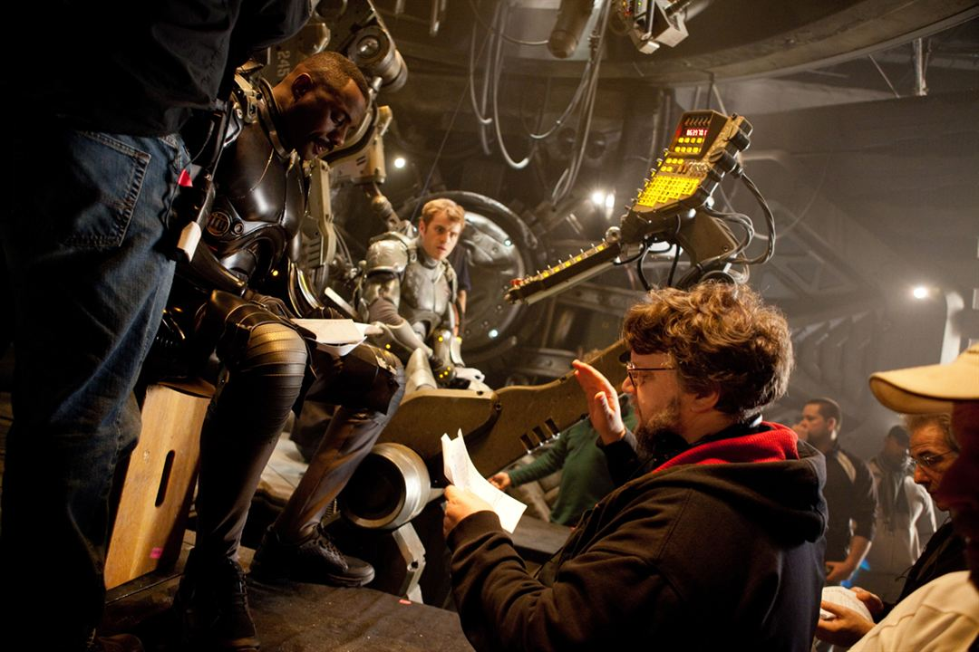 Pacific Rim : Photo Guillermo del Toro, Idris Elba