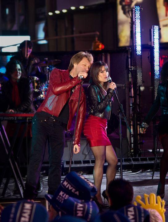 Happy New Year : Photo Jon Bon Jovi, Lea Michele