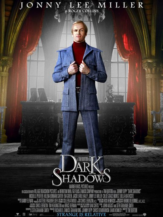 Dark Shadows : Affiche