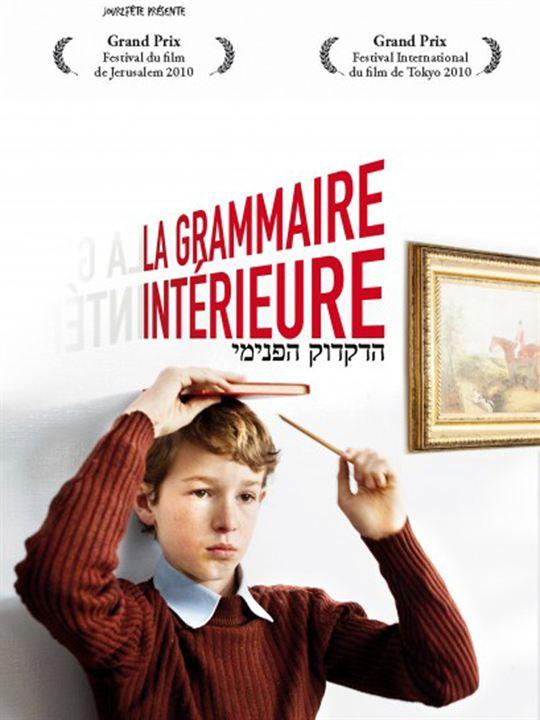 La grammaire intérieure : Affiche