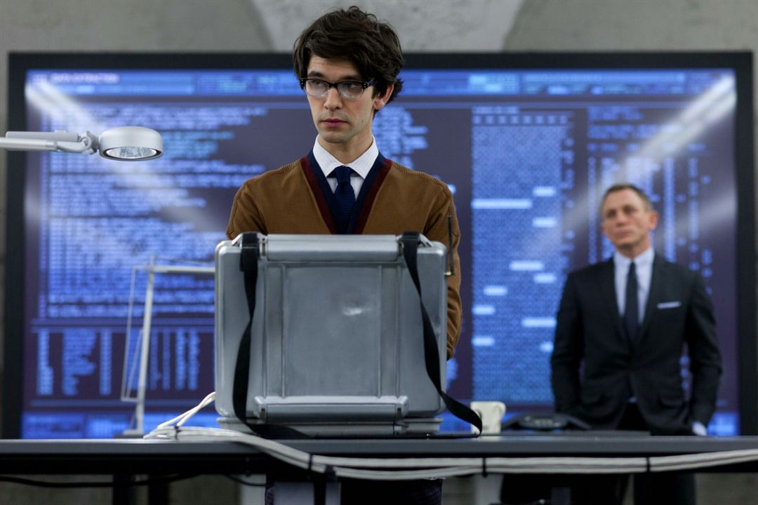 Skyfall : photo Ben Whishaw