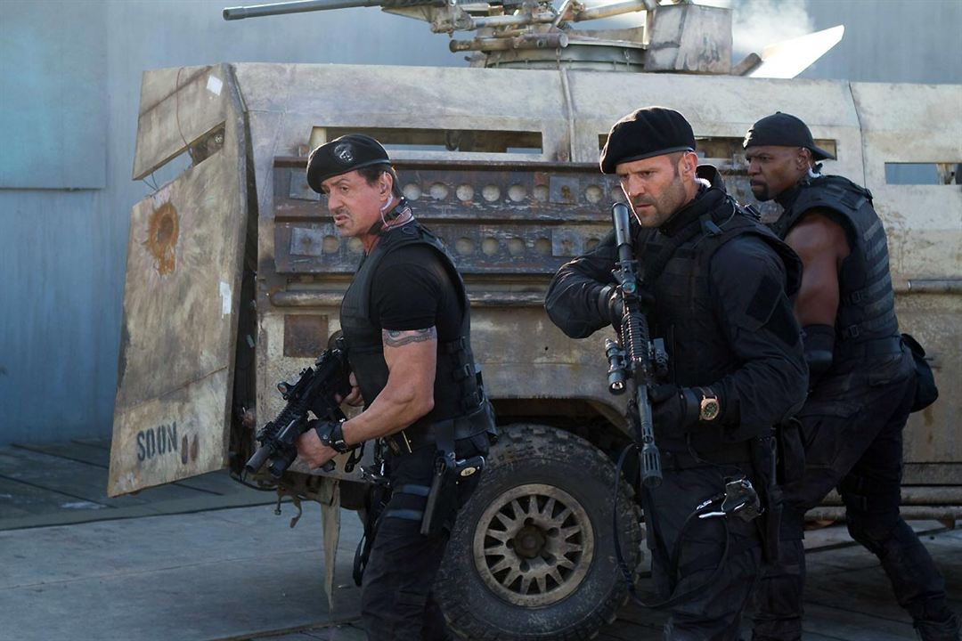 Expendables 2: unité spéciale : Photo Jason Statham, Sylvester Stallone, Terry Crews