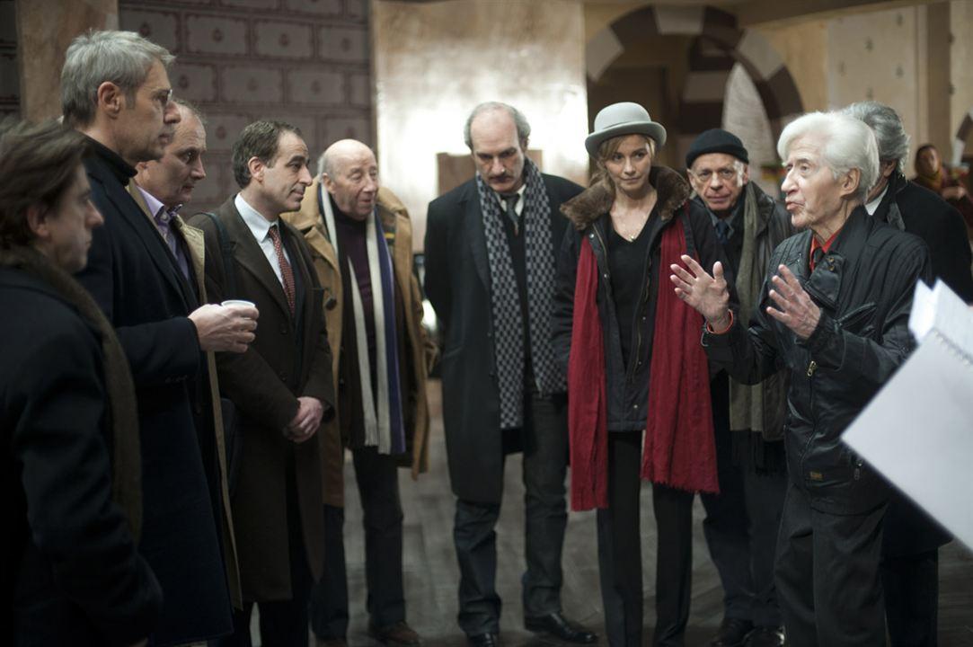 Vous n'avez encore rien vu : Photo Alain Resnais, Anne Consigny, Gérard Lartigau, Hippolyte Girardot, Jean-Noël Brouté