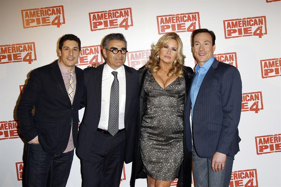 American Pie 4 : Photo promotionnelle Chris Klein, Eugene Levy, Hayden Schlossberg, Jason Biggs, Jennifer Coolidge
