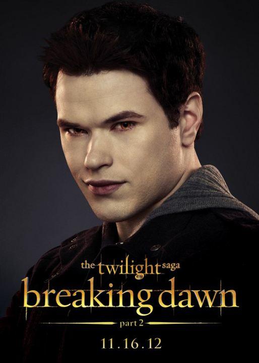 Twilight - Chapitre 5 : Révélation 2e partie : Affiche Kellan Lutz