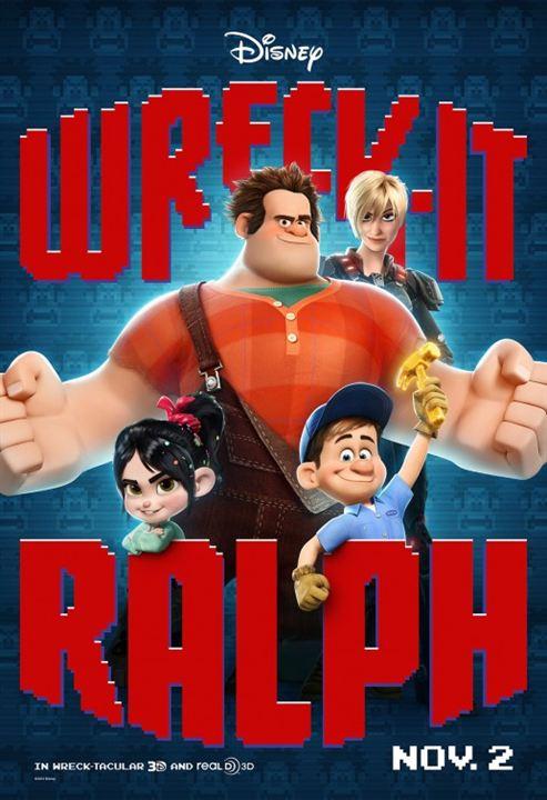Les Mondes de Ralph : Affiche