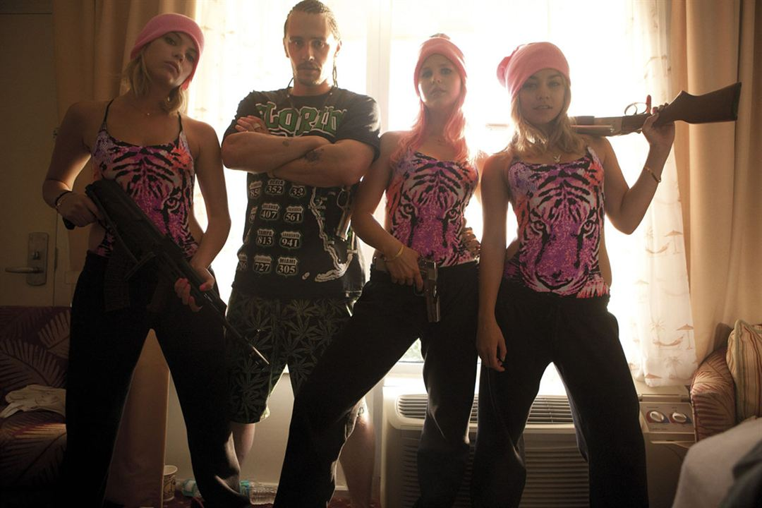 Spring Breakers : Photo Ashley Benson, James Franco, Rachel Korine, Vanessa Hudgens
