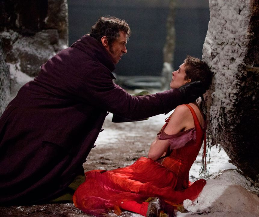 Les Misérables : Photo Anne Hathaway, Hugh Jackman