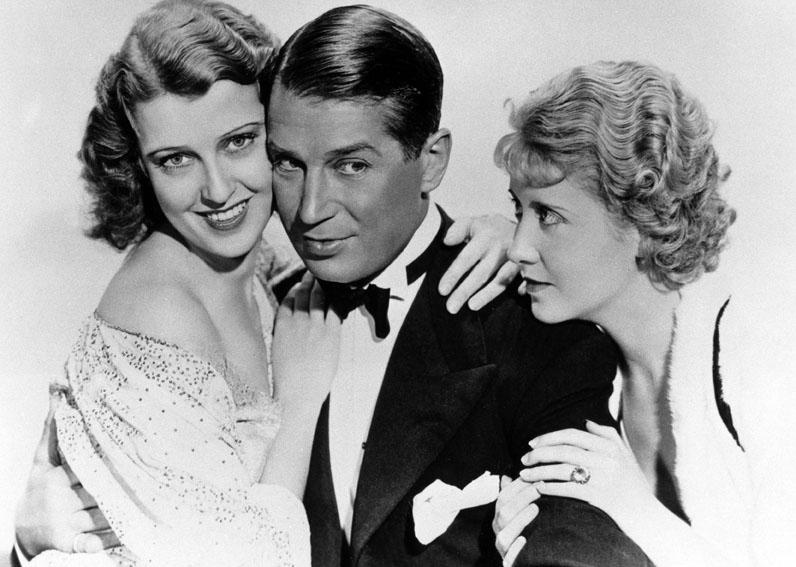 Une Heure près de toi : Photo Genevieve Tobin, Jeanette MacDonald, Maurice Chevalier