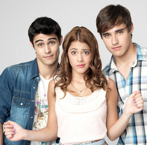 Photo Jorge Blanco, Martina Stoessel, Pablo Espinosa