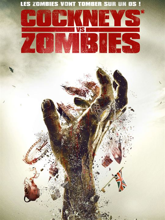 Cockneys vs zombies : Affiche