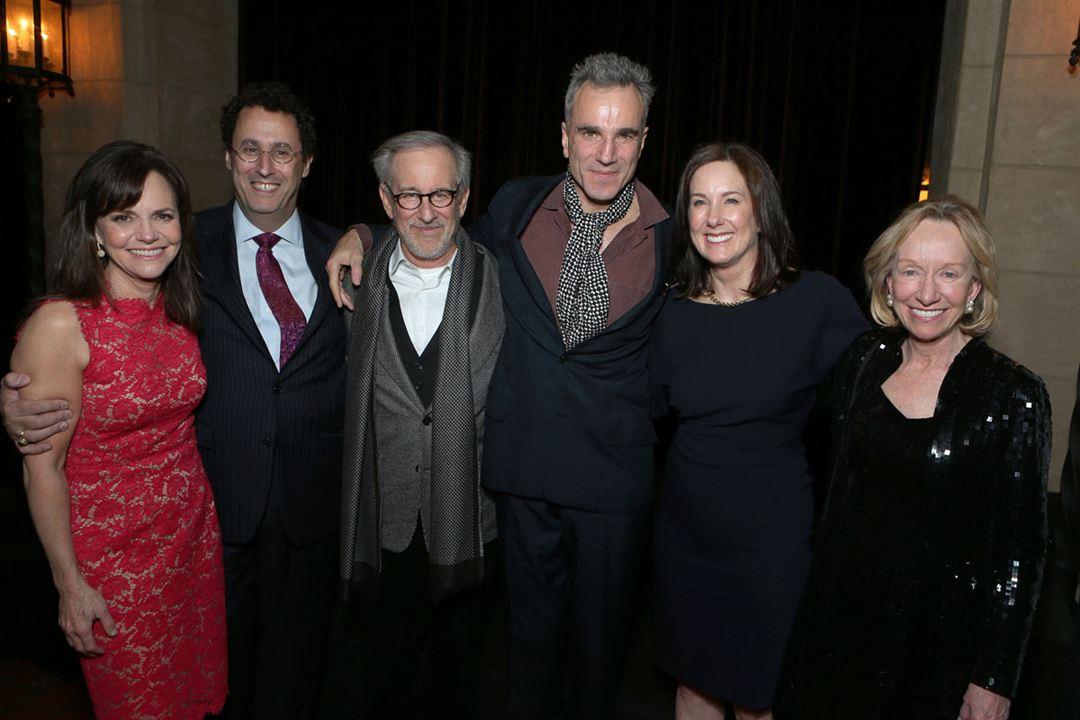 Lincoln : Photo promotionnelle Daniel Day-Lewis, Kathleen Kennedy, Sally Field, Steven Spielberg
