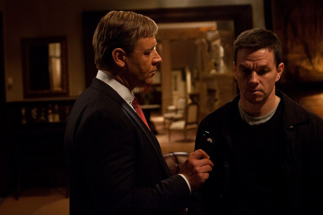 Broken City : Photo Mark Wahlberg, Russell Crowe