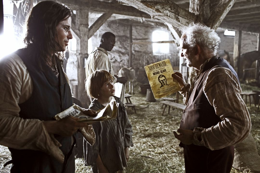 Les Aventures de Huck Finn : Photo Jacky Ido, Leon Seidel, Michael Gwisdek