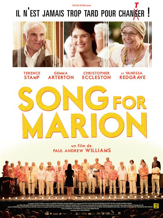 Song for Marion : Affiche