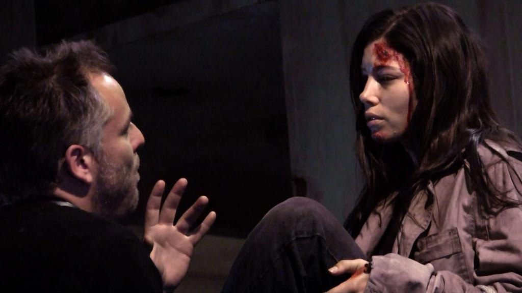 In the Shadow of The Tall Man : Photo Jessica Biel, Pascal Laugier