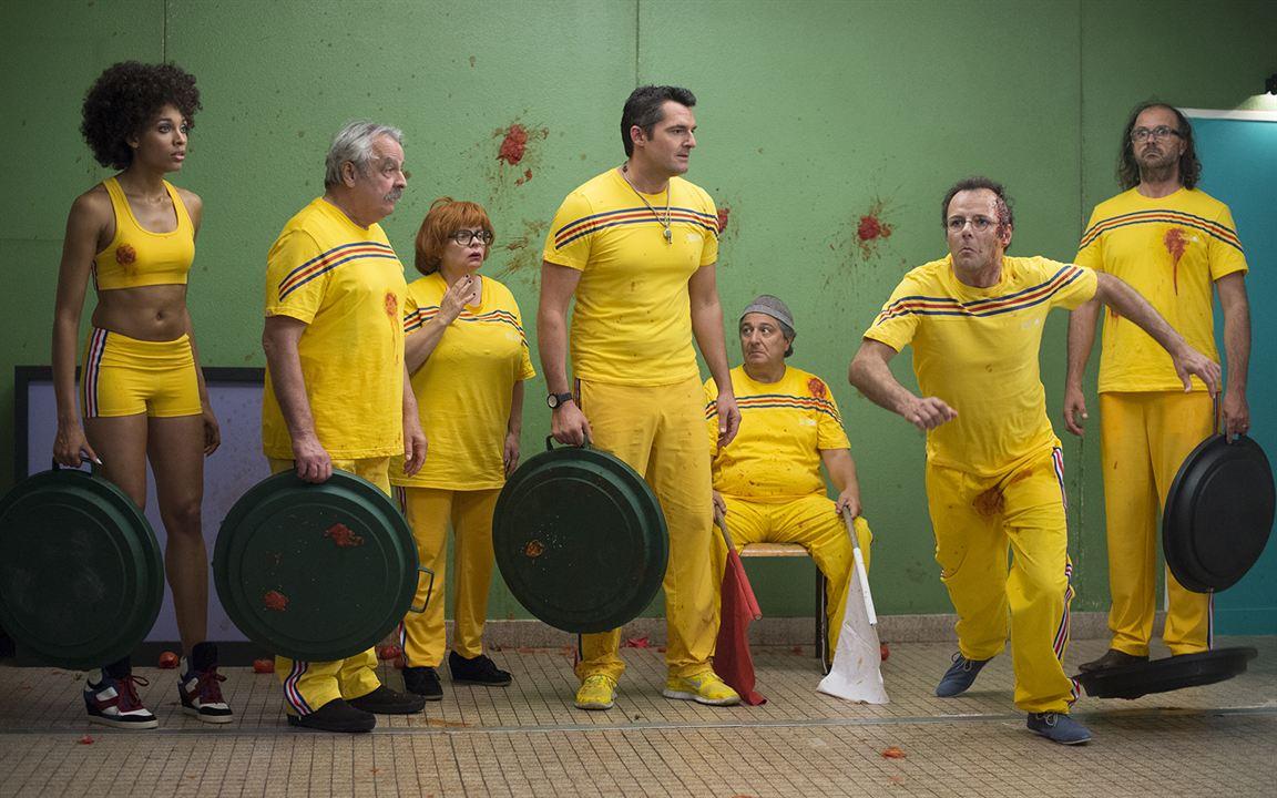 Les Profs : Photo Arnaud Ducret, Christian Clavier, Fred Tousch, Isabelle Nanty, Pierre-François Martin-Laval