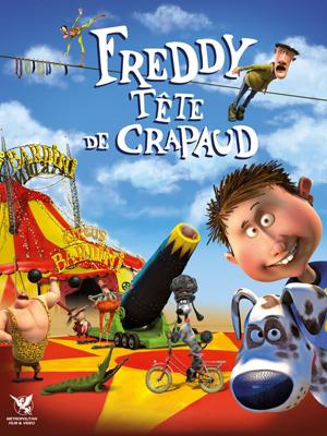 Freddy tête de crapaud : Affiche
