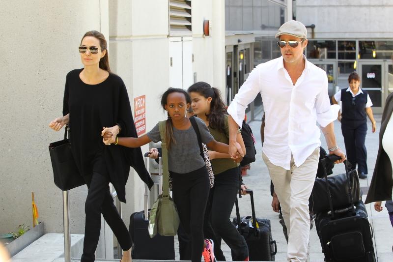 Angelina Jolie et Brad Pitt deviennent...