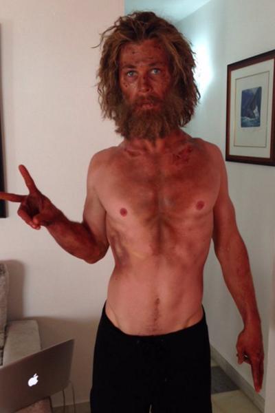 Chris Hemsworth (Au cœur de l'Océan)