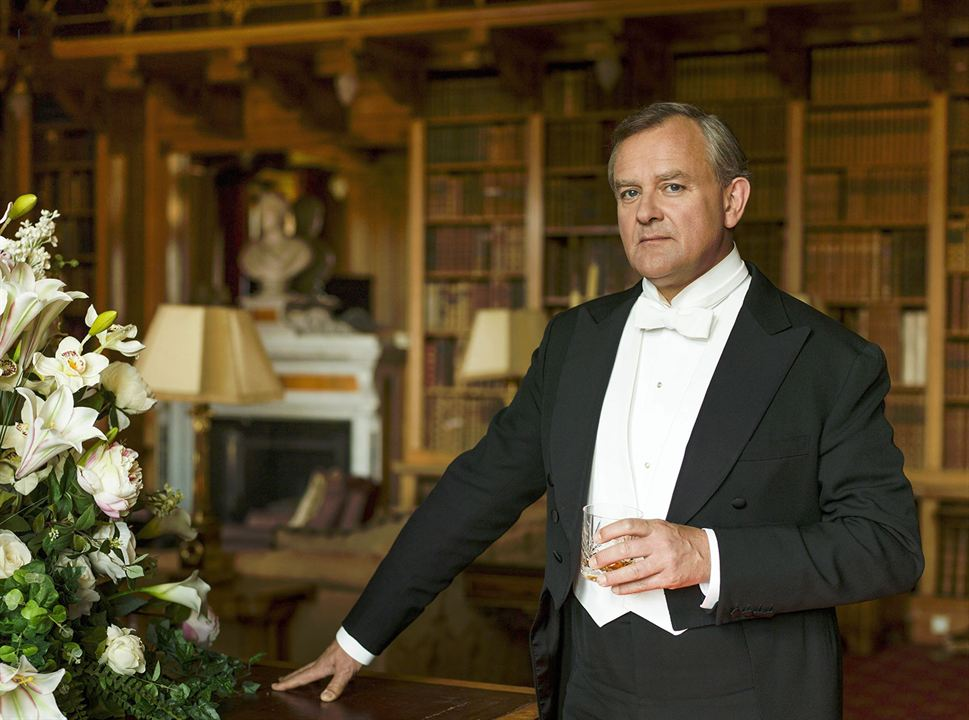 Downton Abbey : les acteurs au micro
