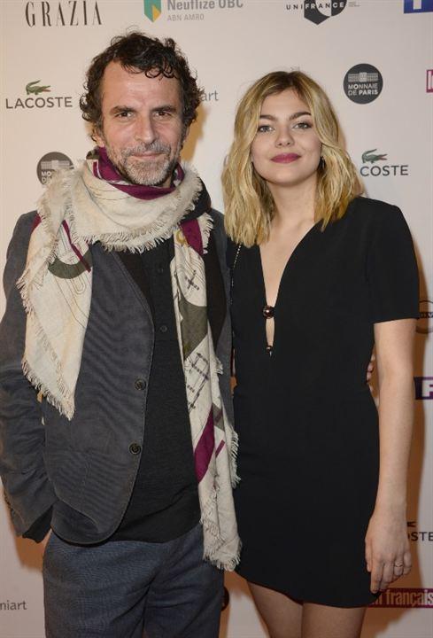 Eric Lartigau et Louane Emera