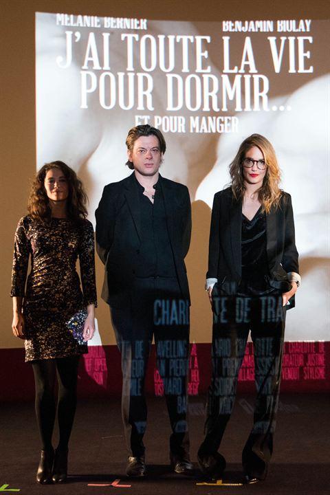 Laurence Arné avec Mélanie Bernier et Benjamin Biolay