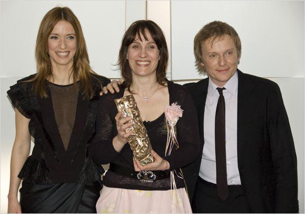 Sophie Reine entourée de Léa Drucker et Laurent Stocker