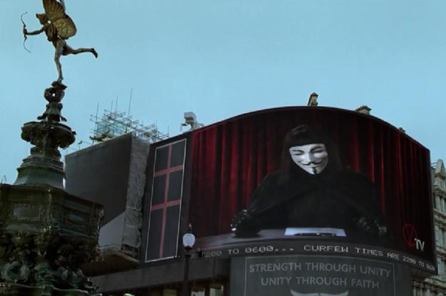 """""""V pour Vendetta"""" de James McTeigue"""