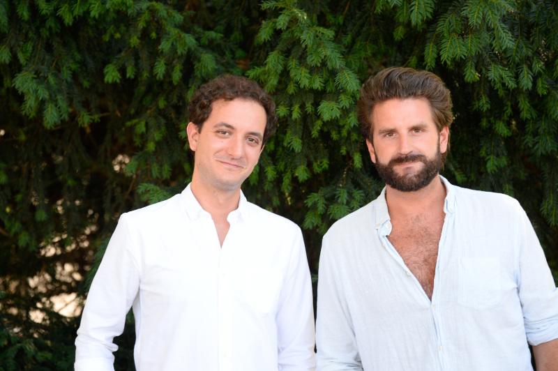 David Marsais et Grégoire Ludig du Palmashow