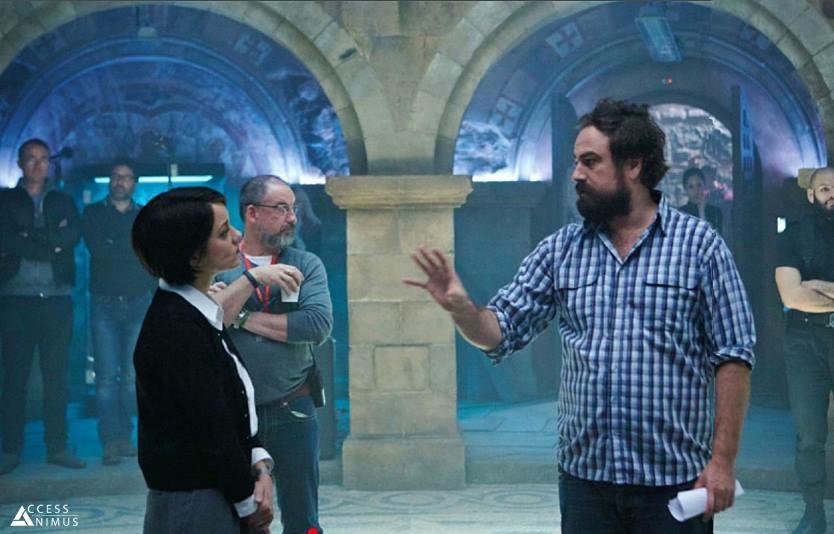 Marion Cotillard face au réalisateur Justin Kurzel