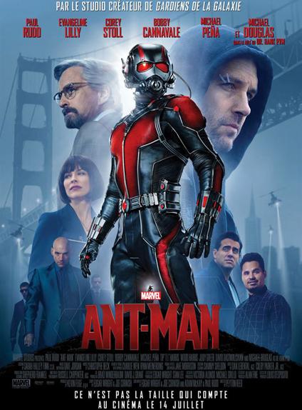 N°3 - Ant-Man (2015) : 519 311 965 $