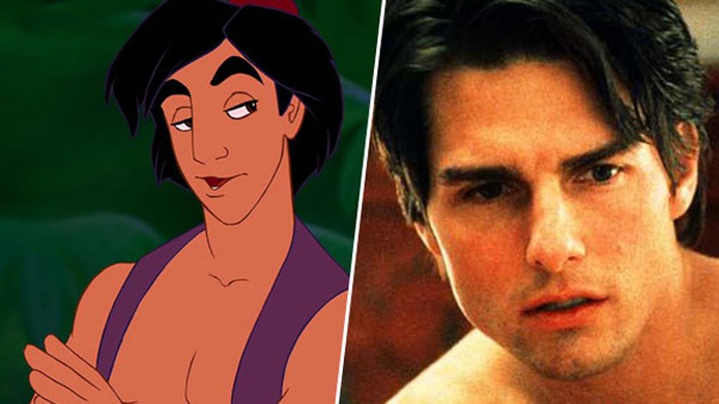 Aladdin, inspiré par Tom Cruise