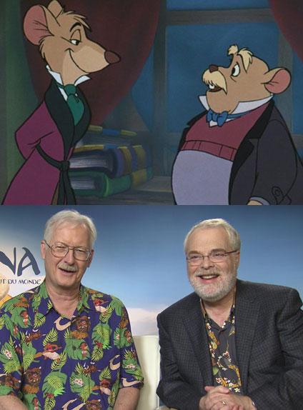 Basil et Dawson, inspirés par John Musker et Ron Clements