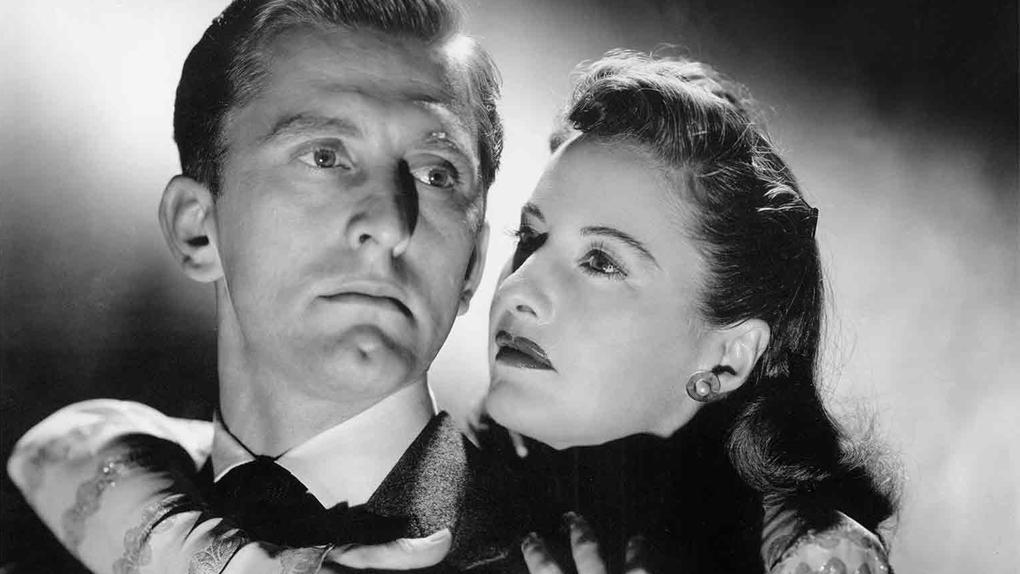 """Kirk Douglas dans """"L'emprise du crime"""" (1946)"""