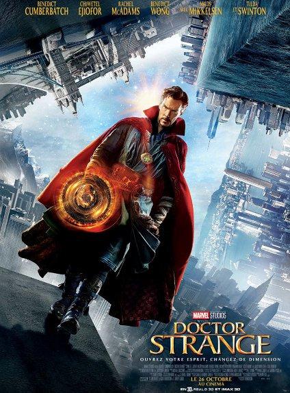 N°5 - Doctor Strange : 4 631 000 $