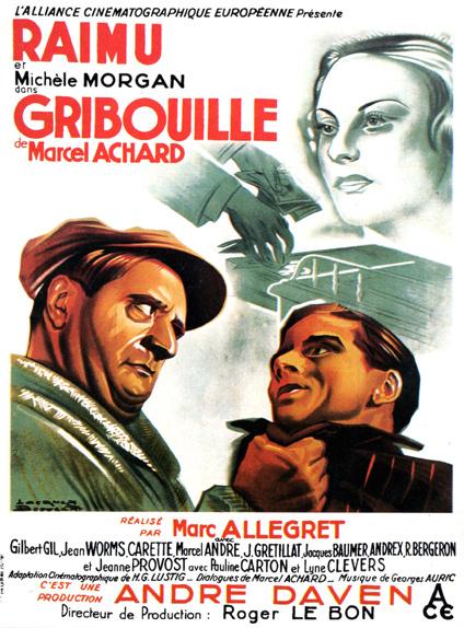Gribouille de Marc Allégret (1937)