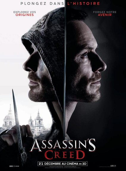 N°5 - Assassin's Creed : 503 600 entrées