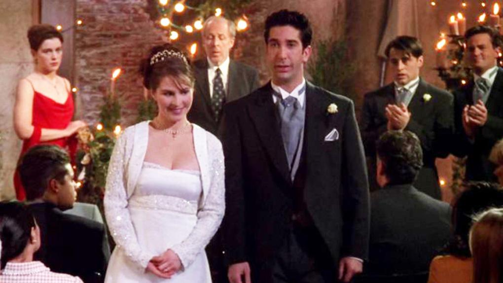Friends - Le mariage de Ross et d'Emily